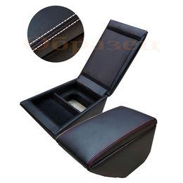 Подлокотник SKODA OCTAVIA A7 2013-, чёрный/чёрный/белый