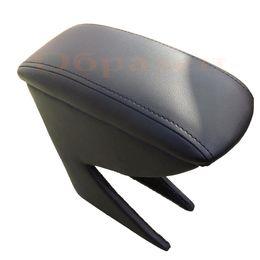 Подлокотник RENAULT SANDERO 2014-, на ножках, на магните, экокожа, чёрный