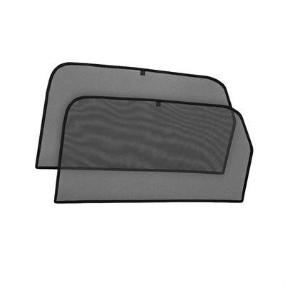 Шторки на стёкла для HYUNDAI SOLARIS II СЕДАН 2017-, каркасные, На магнитах, задние, боковые