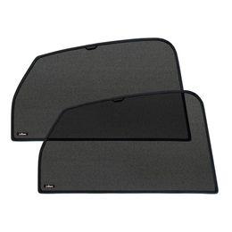 Шторки на стёкла FORD S-MAX 2006-2010, 2010-, каркасные, задние, боковые