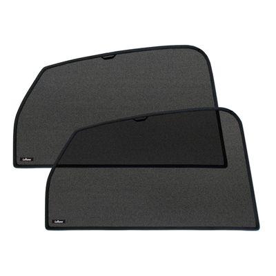 Шторки на стёкла для SUBARU FORESTER IV 2013-, каркасные, задние, боковые