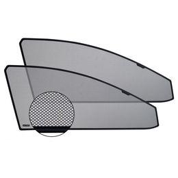 Шторки на стёкла OPEL ASTRA H GTC ХЭТЧБЕК 2005-2011, 3 дв., каркасные, передние, боковые, CHIKO