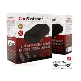 Тент чехол для Автомобиля ХЭТЧБЕК SEDAN STORM A Водонепроницаемая ткань, чёрный