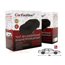 Тент чехол для Автомобиля СЕДАН SEDAN STORM F+ Водонепроницаемая ткань, чёрный