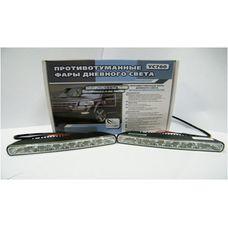 Фары дневного света  светодиодные ClearLight DRL slim YC760 2 х 6 светодиодов по 1 Вт