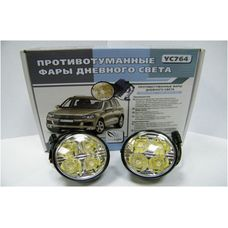 Фары дневного света  светодиодные ClearLight DRL slim YС764 2 х 4 светодиодов по 1 Вт