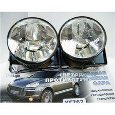 Противотуманные фары дневного света светодиодные ClearLight DRL slim YС762