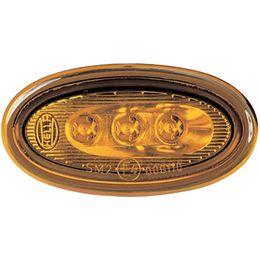 Комплект маркерных фонарей Hella желтый