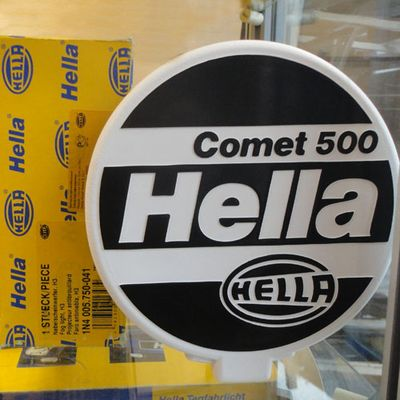 Hella Comet 500 прот туман (2 фары б/к, к-т)