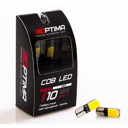 Светодиодные лампы Optima Premium W5W COB 3W 12V 5100К
