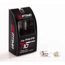 Светодиодные лампы Optima Premium W5W lens PHILIPS Chip 5W 12V 5100К