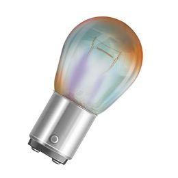PR21/5W лампа 12V-21/5W (BAW15d) Osram Diadem RED (серебристый дизайн) 7538LDR