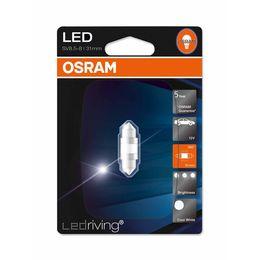Светодиодная лампа Fest T10,5 12V- 1W (SV8,5-31/10) Osram LEDriving Premium 6000K 6497CW-01B