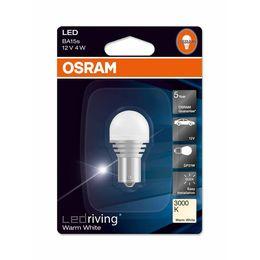 Светодиодная лампа P21W 12V- 4W (BAU15s) Osram LEDriving Premium 3000K 7556WW-01B