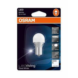 Светодиодная лампа P21W 12V- 4W (BAU15s) Osram LEDriving Premium 6000K 7556CW-01B