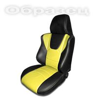 Чехлы на сиденья для Fiat Panda 2003-2012 ДИНАС PILOT