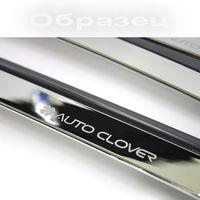 Дефлекторы окон Hyundai Santa Fe III 2012- из 6 частей, ветровики накладные