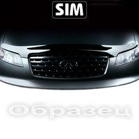 Дефлектор капота на Audi A6, S6 кузов 4G, C7 2011-