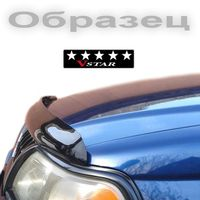 Дефлектор капота на Volkswagen Golf V 2003-2009, Volkswagen Jetta V 2005- 2010