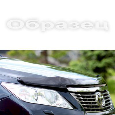 Дефлектор капота на Nissan Qashqai I, Qashqai+2 2007-2009, длинный