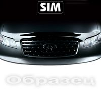 Дефлектор капота Volkswagen Amarok 2010-