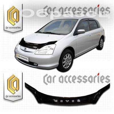 Дефлектор капота Honda Civic EU1-EU4, EP3 2000-2005  купить - Интернет-магазин Msk-Auto.com