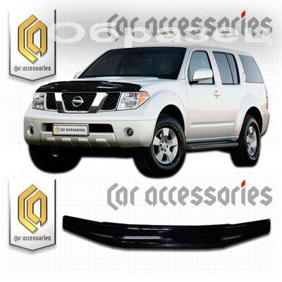 Дефлектор капота Nissan Terrano 2005-2007