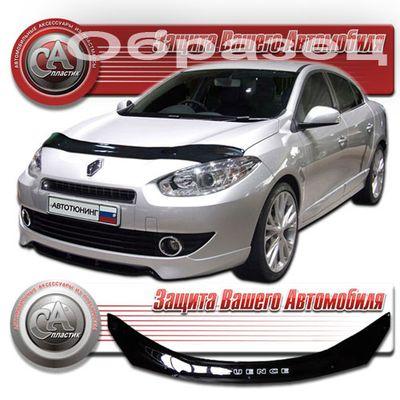 Дефлектор капота Renault Fluence 2009-  купить - Интернет-магазин Msk-Auto.com