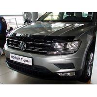 Дефлектор капота на Volkswagen Tiguan 2016-