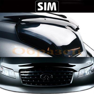 Дефлектор капота Lexus NX 2014- SIM купить - Интернет-магазин Msk-Auto.com