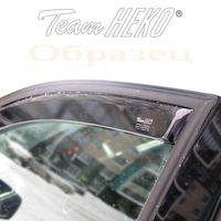 Дефлекторы окон для TOYOTA HILUX VIII 2015- Double Cab передние двери, ветровики вставные