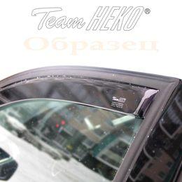 Дефлекторы окон Renault Megane II 2002-2008 седан, ветровики вставные