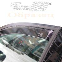 Дефлекторы окон для VOLKSWAGEN TOUAREG I 2002-2010, PORSCHE CAYENNE 2002-2010, ветровики вставные, передние
