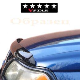 Дефлектор капота (Мухобойка) на MITSUBISHI OUTLANDER XL II 2007-2009