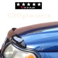 Дефлектор капота (Мухобойка) на TOYOTA LAND CRUISER 200 2008-2015