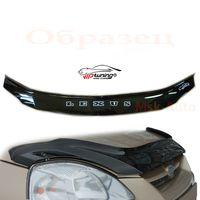 Дефлектор капота на BMW X1 Е84 2009-, отбойник на капот (мухобойка)