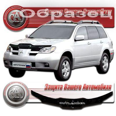 Дефлектор капота Mitsubishi Outlander 2003
