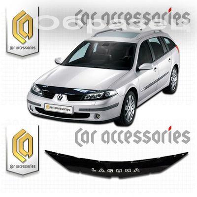 Дефлектор капота Renault Laguna 2006  купить - Интернет-магазин Msk-Auto.com