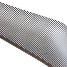Дефлектор капота (Шелкография серебро) Chevrolet Lacetti