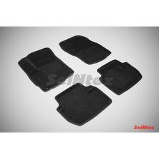 3D коврики для Mitsubishi Outlander II (XL) 2006-2012