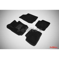 3D коврики для Hyundai i30 2009-2012 (черный цвет)