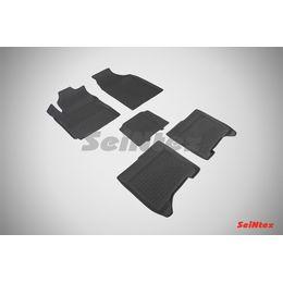 Резиновые коврики с высоким бортом для Chery Bonus III 2013-н.в.