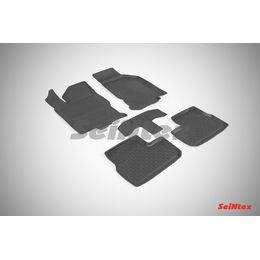 Резиновые коврики с высоким бортом для Datsun mi-DO 2014-н.в.