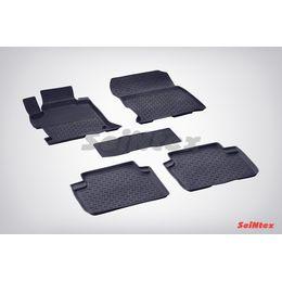 Резиновые коврики с высоким бортом для Honda Accord IX 2012-н.в.