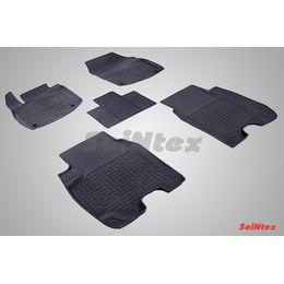 Резиновые коврики с высоким бортом для Honda Civic IX Hatchback 2012-н.в.