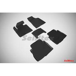 Резиновые коврики с высоким бортом для KIA Sorento 2009-2012