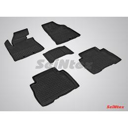 Резиновые коврики с высоким бортом для KIA Sorento 2012-2015