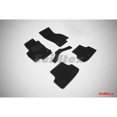 Ворсовые коврики для Audi A-3 2012-н.в.