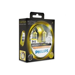 Галогеновые лампы H4 PHILIPS Color Vision 12V-60/55W (P43t) 12342CVPYS2