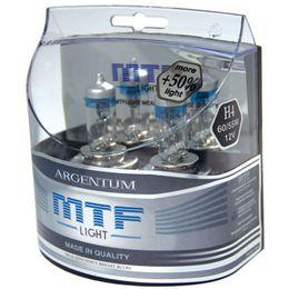 Галогенные лампы MTF Light HB4 9006 12v 55w Argentum +50%, компл